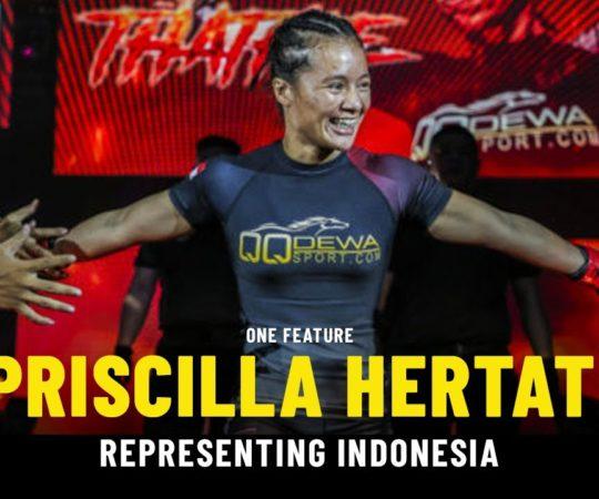Priscilla Hertati Shoots To Superstardom | ONE Feature