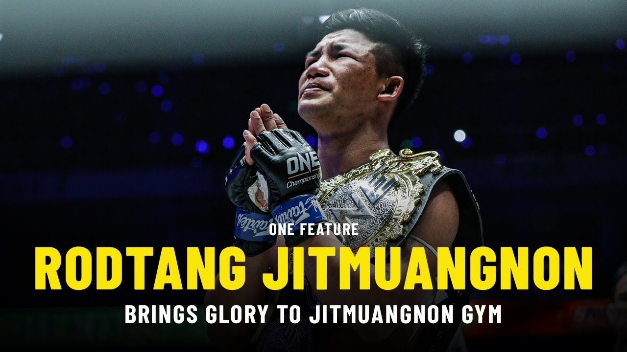 Rodtang Brings Glory To Jitmuangnon Gym | ONE Feature