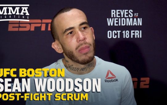UFC on ESPN 6: Sean Woodson Explains Why He 'Dreads The Day' He's A Betting Favorite – MMA Fighting