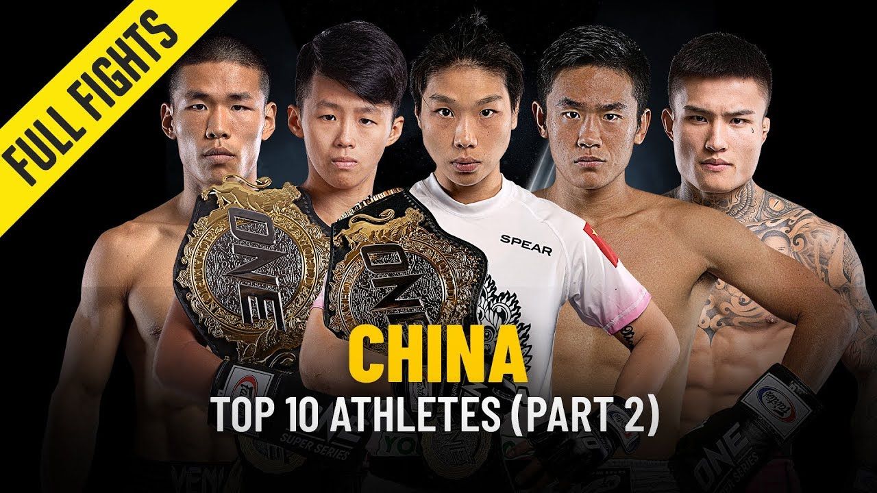 Top 10 Chinese Athletes | Part 2 | ONE Full Fights