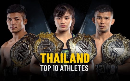Top 10 Thai Athletes | ONE Highlights