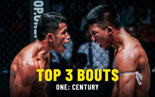 Top 3 Bouts From ONE: CENTURY | ONE Highlights