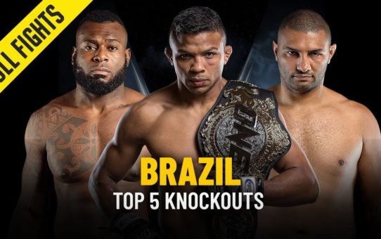 Top 5 Knockouts | Brazil | ONE Full Fights