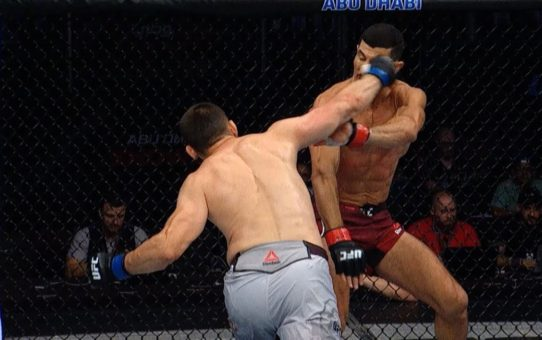 Top Finishes from UFC Singapore Fighters