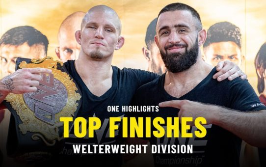 Top Welterweight Finishes | ONE Highlights