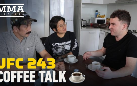 UFC 243: Coffee Talk – MMA Fighting