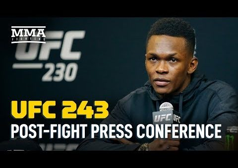 UFC 243 Post-Fight Press Conference – MMA Fighting