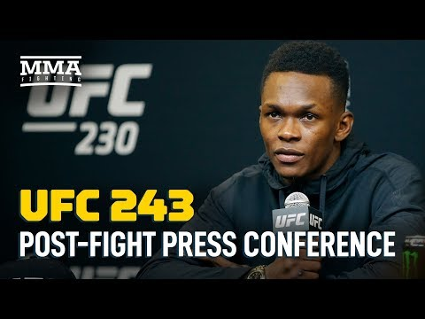 UFC 243 Post-Fight Press Conference - MMA Fighting