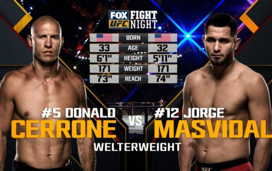 UFC 244 Free Fight: Jorge Masvidal vs Donald Cerrone