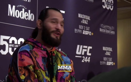 UFC 244: Jorge Masvidal Media Day Scrum Live Stream – MMA Fighting