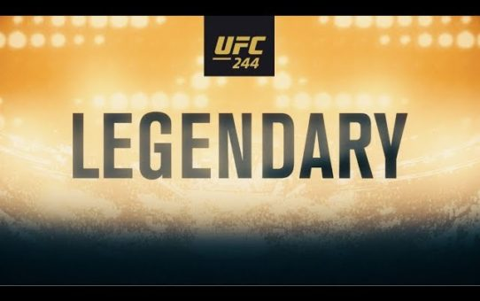 UFC 244: Masvidal vs Diaz – Legendary