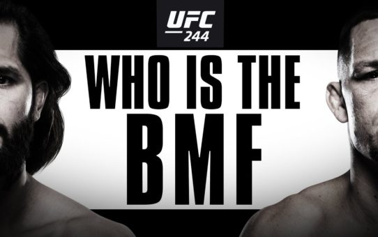 UFC 244: Masvidal vs Diaz – Who is the BMF?