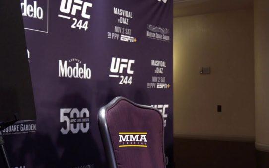 UFC 244: Nate Diaz Media Day Scrum Live Stream – MMA Fighting