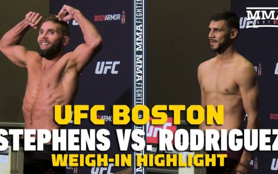 UFC on ESPN 6: Jeremy Stephens, Yair Rodriguez Make Weight – MMA Fighting