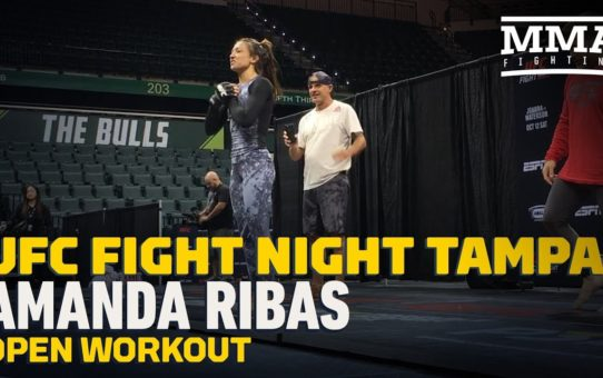 UFC Tampa: Amanda Ribas Open Workout Highlights – MMA Fighting