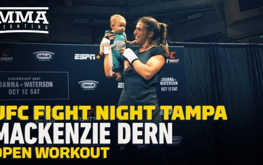 UFC Tampa: Mackenzie Dern Open Workout Highlights – MMA Fighting