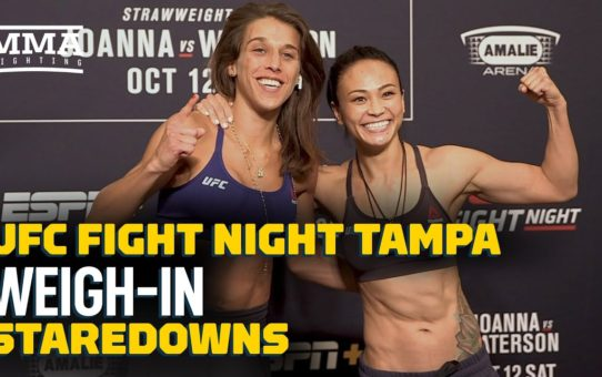 UFC Tampa Weigh-In Staredowns – MMA Fighting