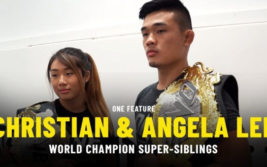 World Champion Super-Siblings Christian & Angela Lee | ONE Feature