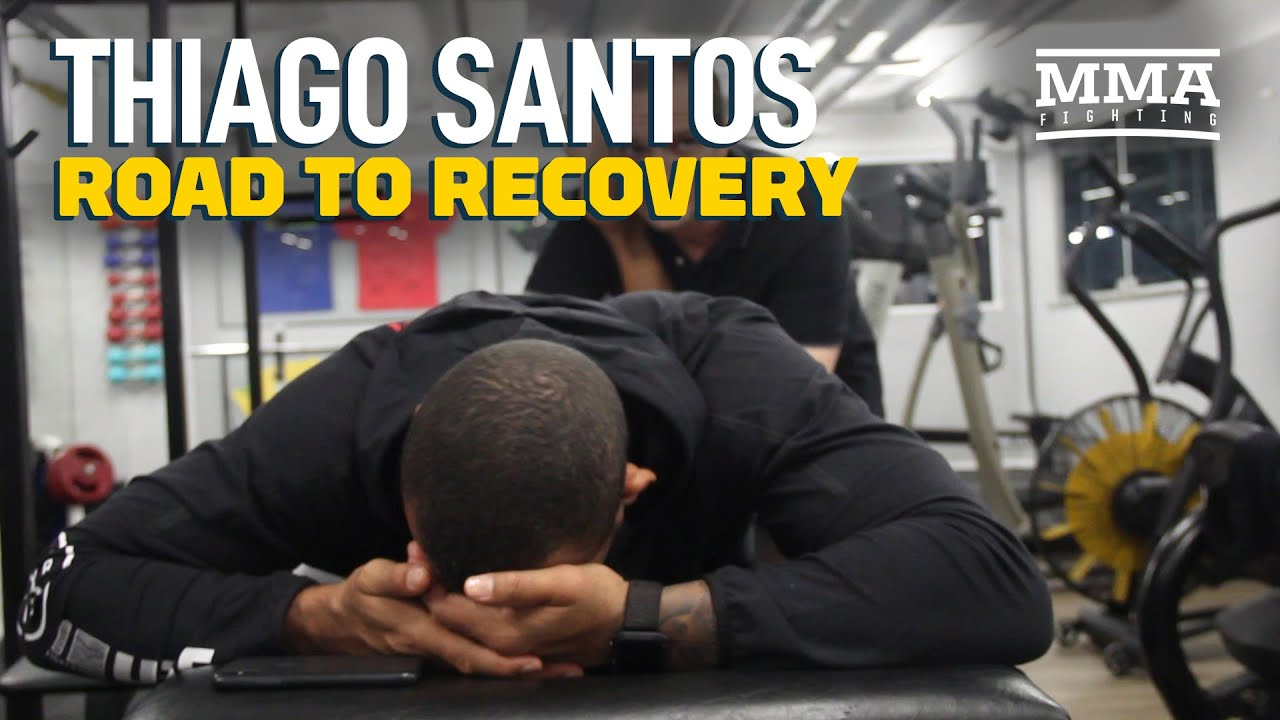 Recovering From Injury, Thiago Santos Doesn't Need 'Tune-Up' For Jon Jones Rematch - MMA Fighting