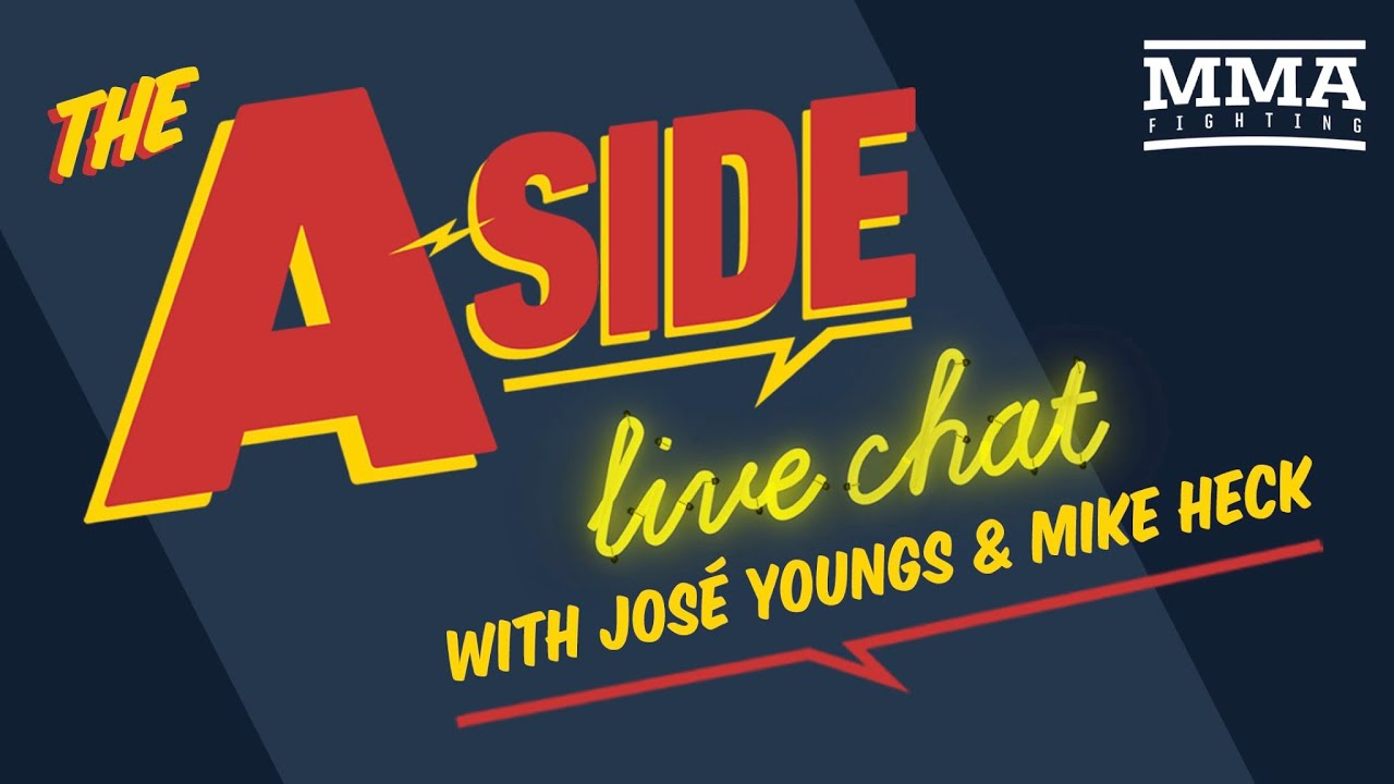 The A-Side Live Chat: Khabib Nurmagomedov vs. Tony Ferugson, Jon Jones vs. Dominick Reyes, More