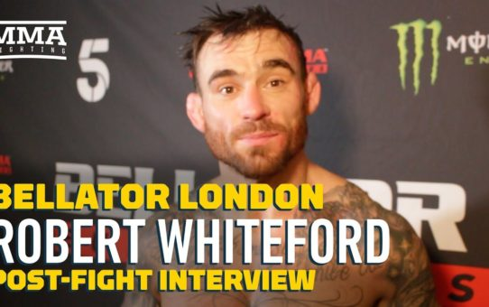 Emotional Robert Whiteford Reveals Marriage Breakdown, Battle With Alcohol – MMA Fighting