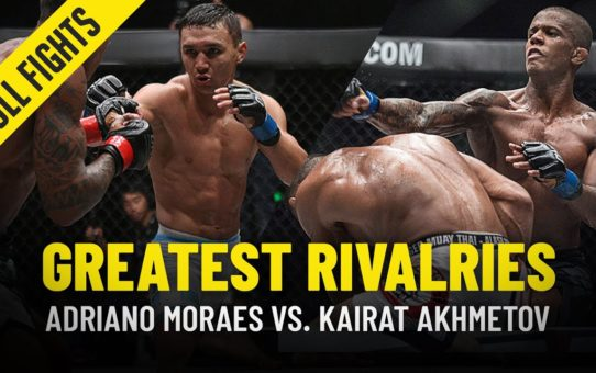 Adriano Moraes vs. Kairat Akhmetov | Greatest Rivalries | ONE Full Fights