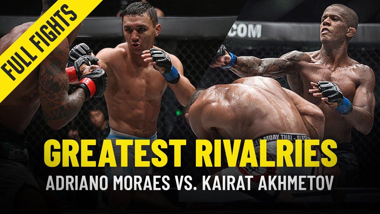 Adriano Moraes vs. Kairat Akhmetov   Greatest Rivalries   ONE Full Fights