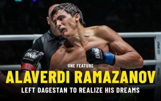 Alaverdi Ramazanov Left Dagestan To Realize His Dreams | ONE Feature