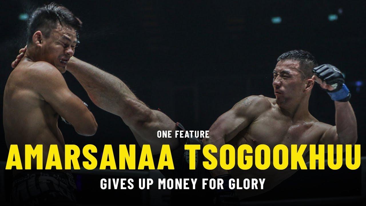 Amarsanaa Tsogookhuu Gives Up Money For Glory | ONE Feature