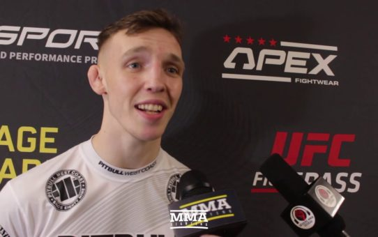 Cage Warriors 110's Rhys McKee Wants Title Shot After Successful Welterweight Debut – MMA Fighting
