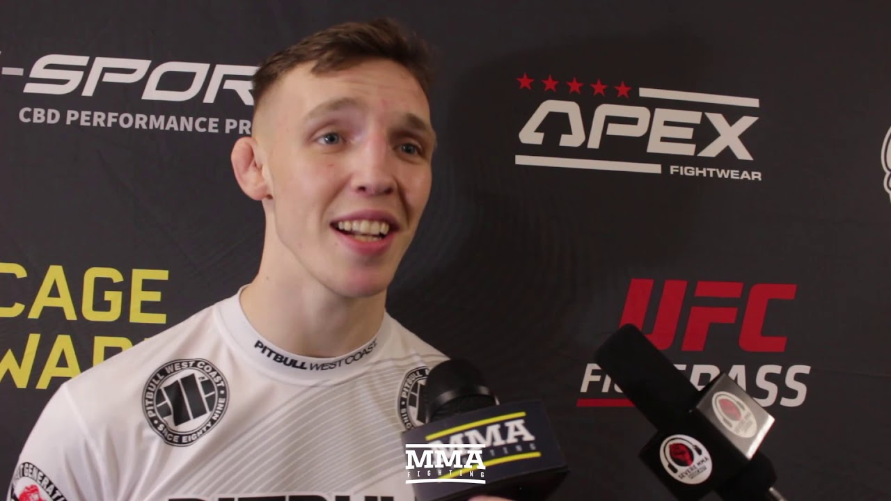 Cage Warriors 110's Rhys McKee Wants Title Shot After Successful Welterweight Debut - MMA Fighting