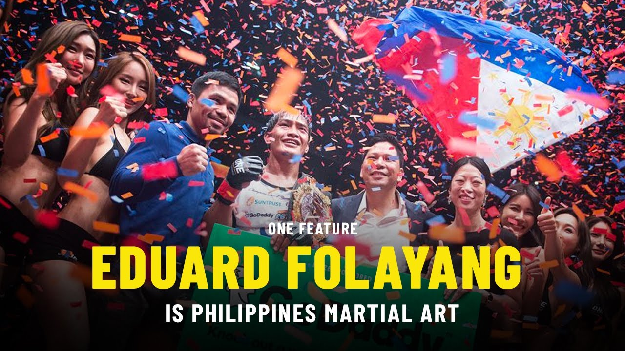 Eduard Folayang Is Philippines Martial Arts | ONE Feature