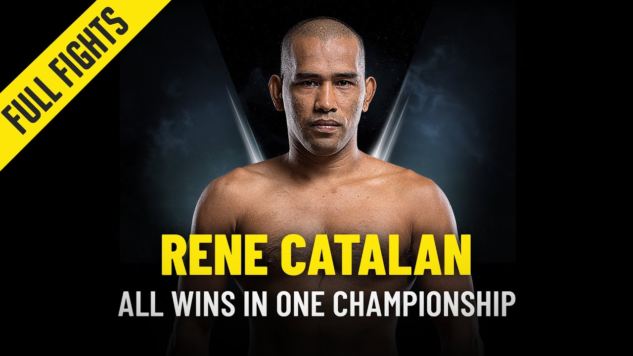 Every Rene Catalan Win   ONE Full Fights