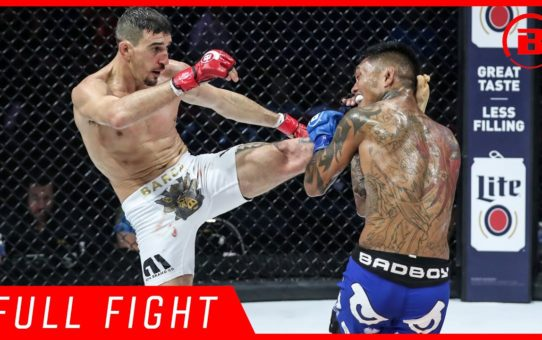 Full Fight | Dustin Barca vs. Isaac Hopps – Bellator 213