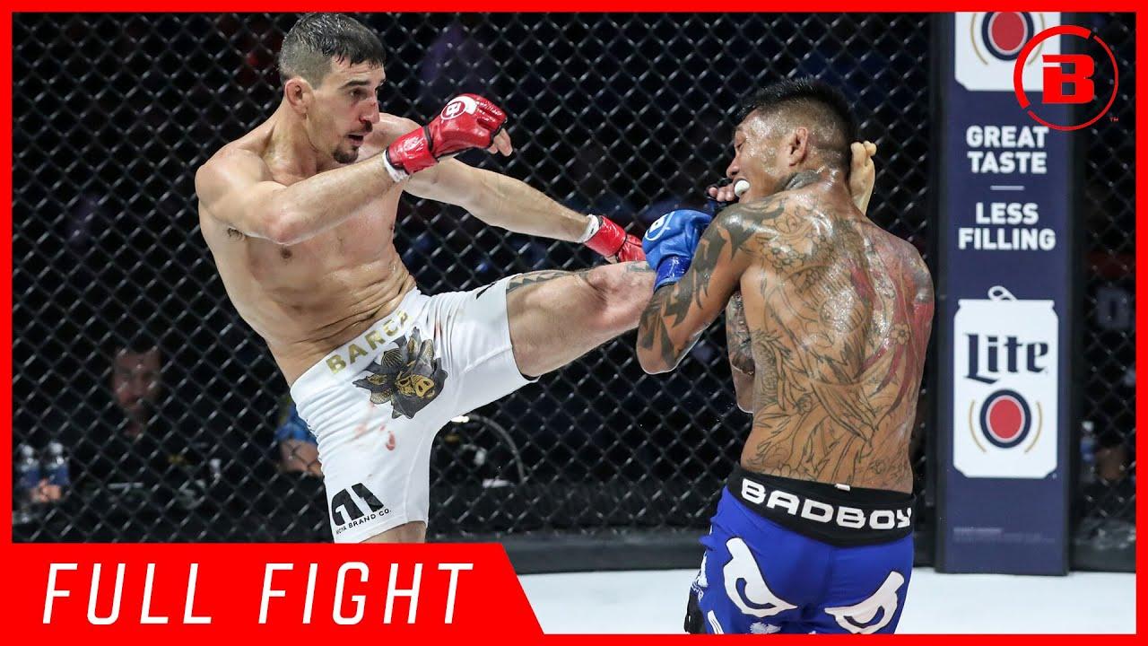 Full Fight | Dustin Barca vs. Isaac Hopps - Bellator 213