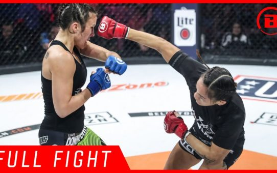 Full Fight | Ilima-Lei MacFarlane vs. Valerie Letourneau – Bellator 213