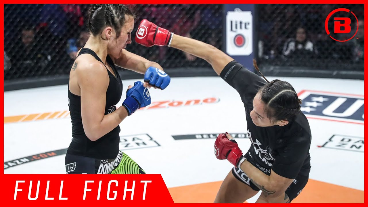 Full Fight | Ilima-Lei MacFarlane vs. Valerie Letourneau - Bellator 213
