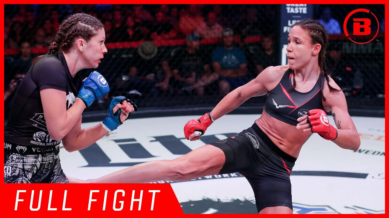 Full Fight | Juliana Velasquez vs Kristina Williams - Bellator 224