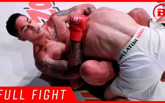 Full Fight | Nainoa Dung vs Brad Robison – Bellator 224