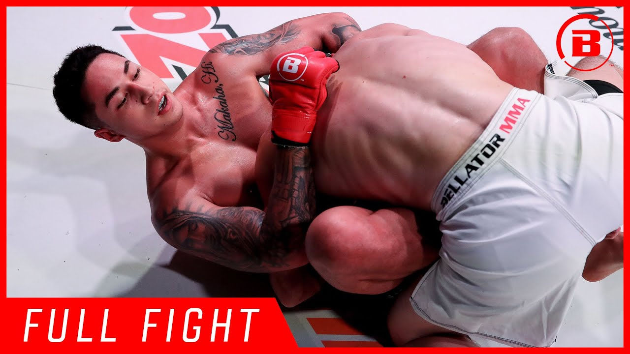 Full Fight   Nainoa Dung vs Brad Robison - Bellator 224