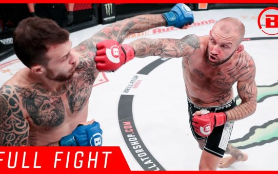 Full Fight | Terry Brazier vs. Alessandro Botti – Bellator 223