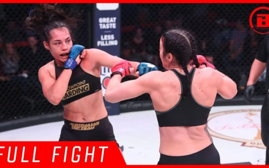 Full Fights | Janay Harding vs. Sinead Kavanagh – Bellator 207
