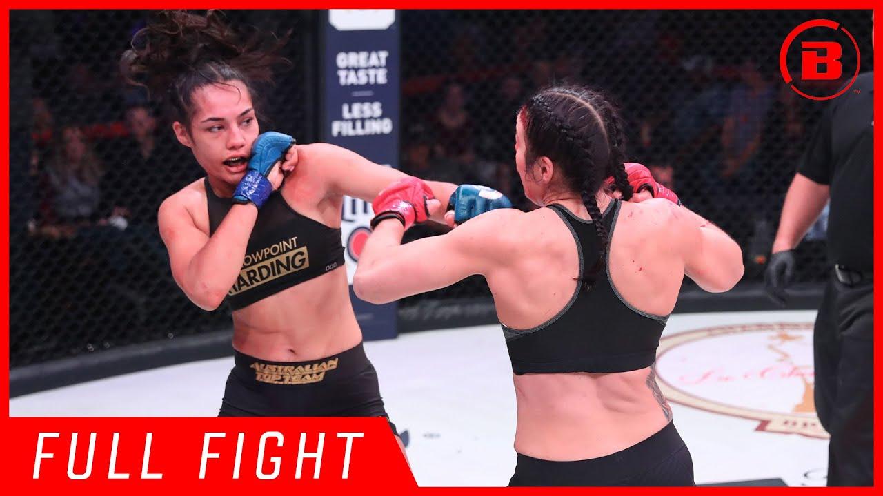 Full Fights | Janay Harding vs. Sinead Kavanagh - Bellator 207