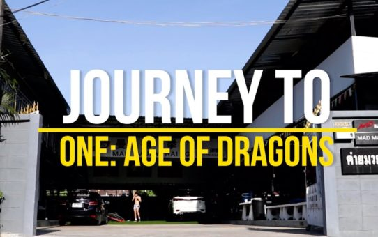 Ilias Ennahachi & Wang Wenfeng's Journey To ONE: AGE OF DRAGONS | ONE VLOG