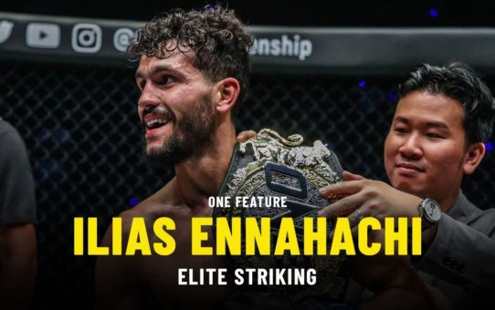 Ilias Ennahachi's Elite Striking | ONE Feature