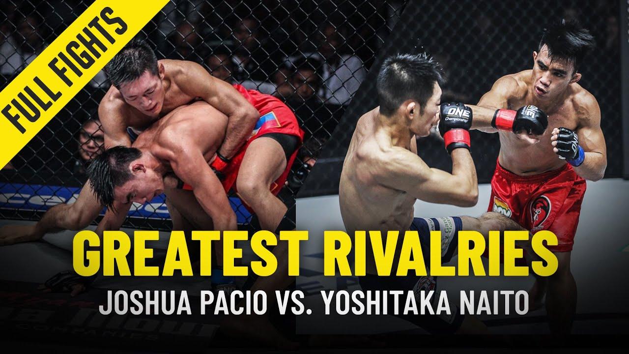 Joshua Pacio vs. Yoshitaka Naito | Greatest Rivalries | ONE Full Fights