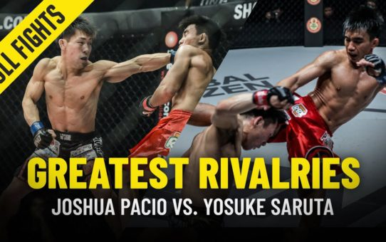 Joshua Pacio vs. Yosuke Saruta | Greatest Rivalries | ONE Full Fights