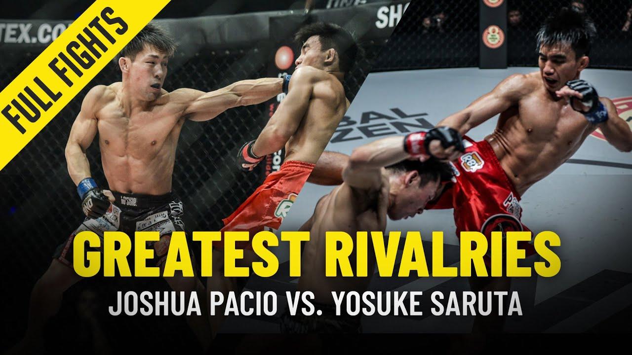 Joshua Pacio vs. Yosuke Saruta | Greatest Rivalries | ONE Full Fights