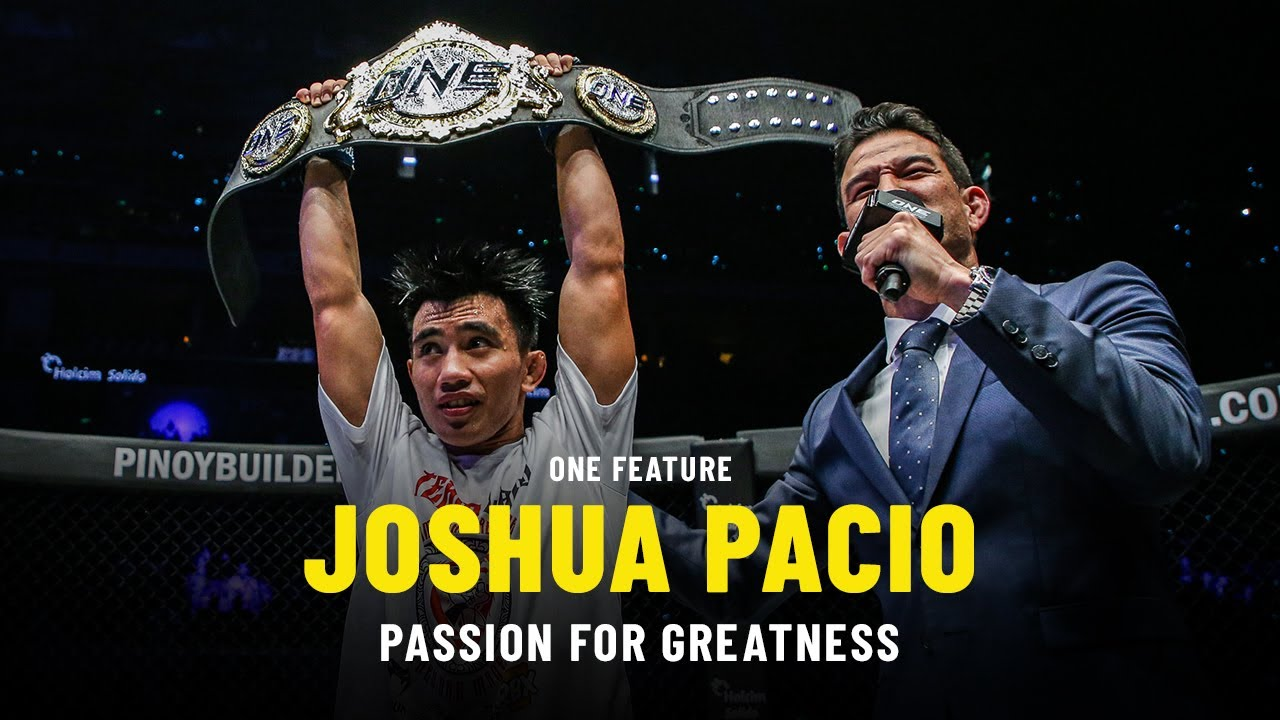 Joshua Pacio's Passion For Greatness | ONE Feature
