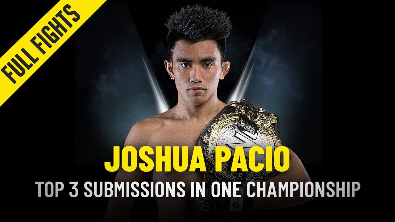 Joshua Pacio's Top 3 Submissions | ONE Full Fights